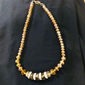 Beautiful Beaded Necklace Costume Jewelry